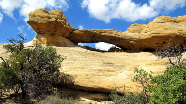 Two-Headed Snake Arch - Pump Canyon – Edward M Kotyk