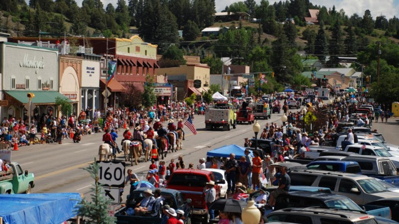 Historic downtown Pagosa Springs; 4th of July Parade – Jennifer Green