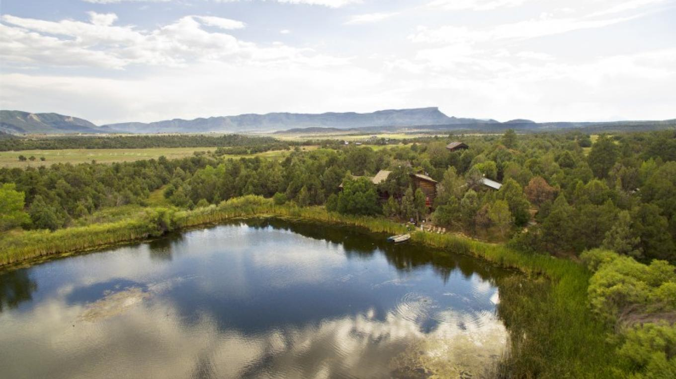 Sky view of Willowtail Springs