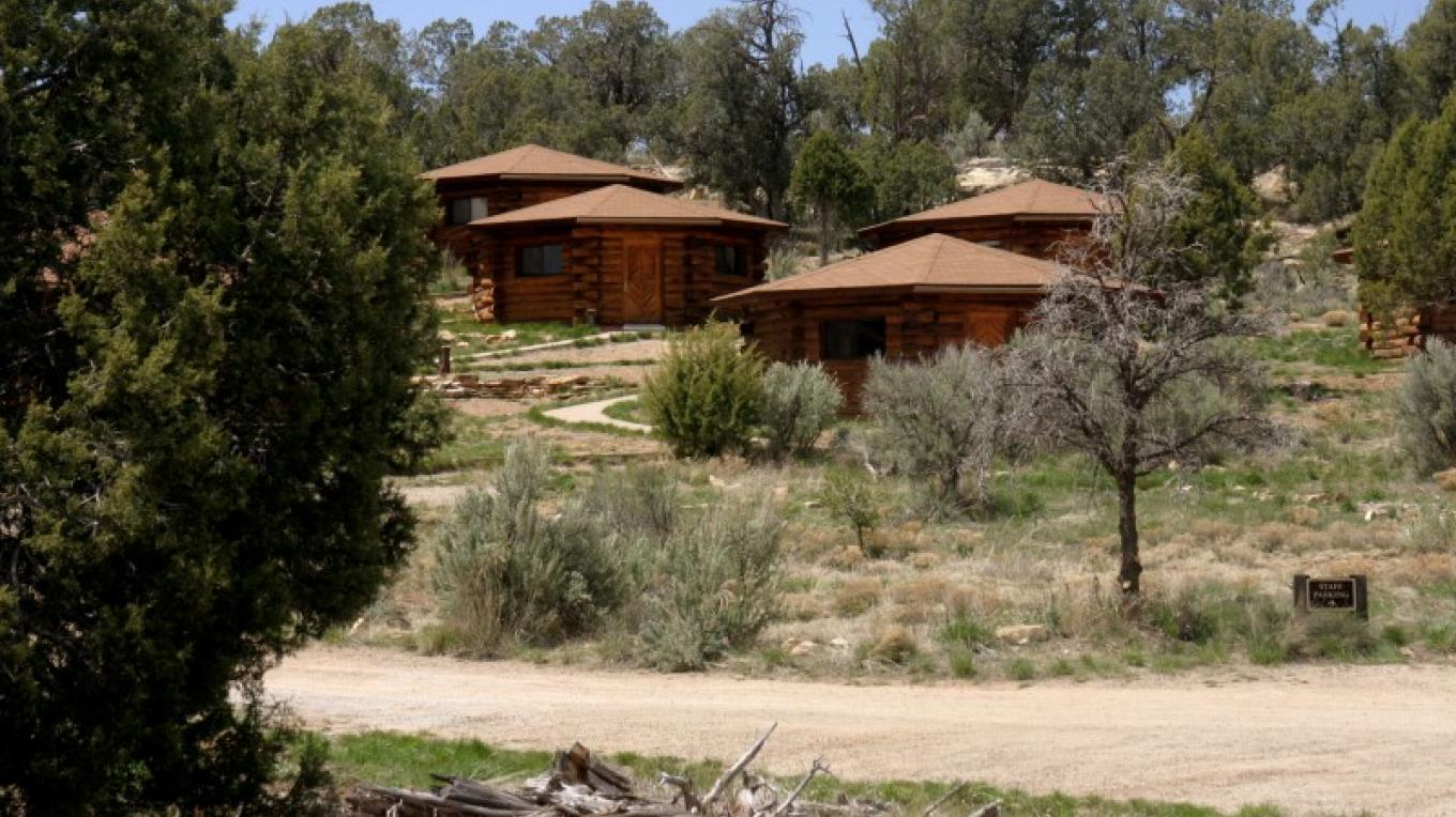 Adults participating in campus-based programs are housed in 10 rustic but comfortable cabins modeled after Navajo hogans. – Canyon Archaeological Center