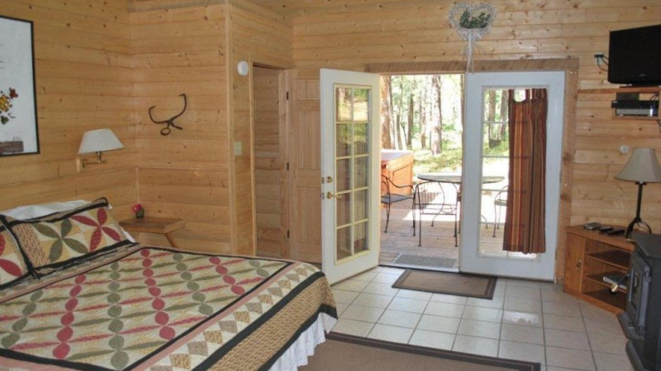 The Tall Pines Cabin – Garth