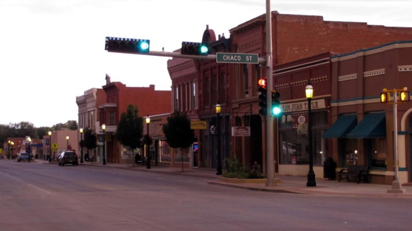 Historic Downtown 2010 in the evening – Edward M Kotyk