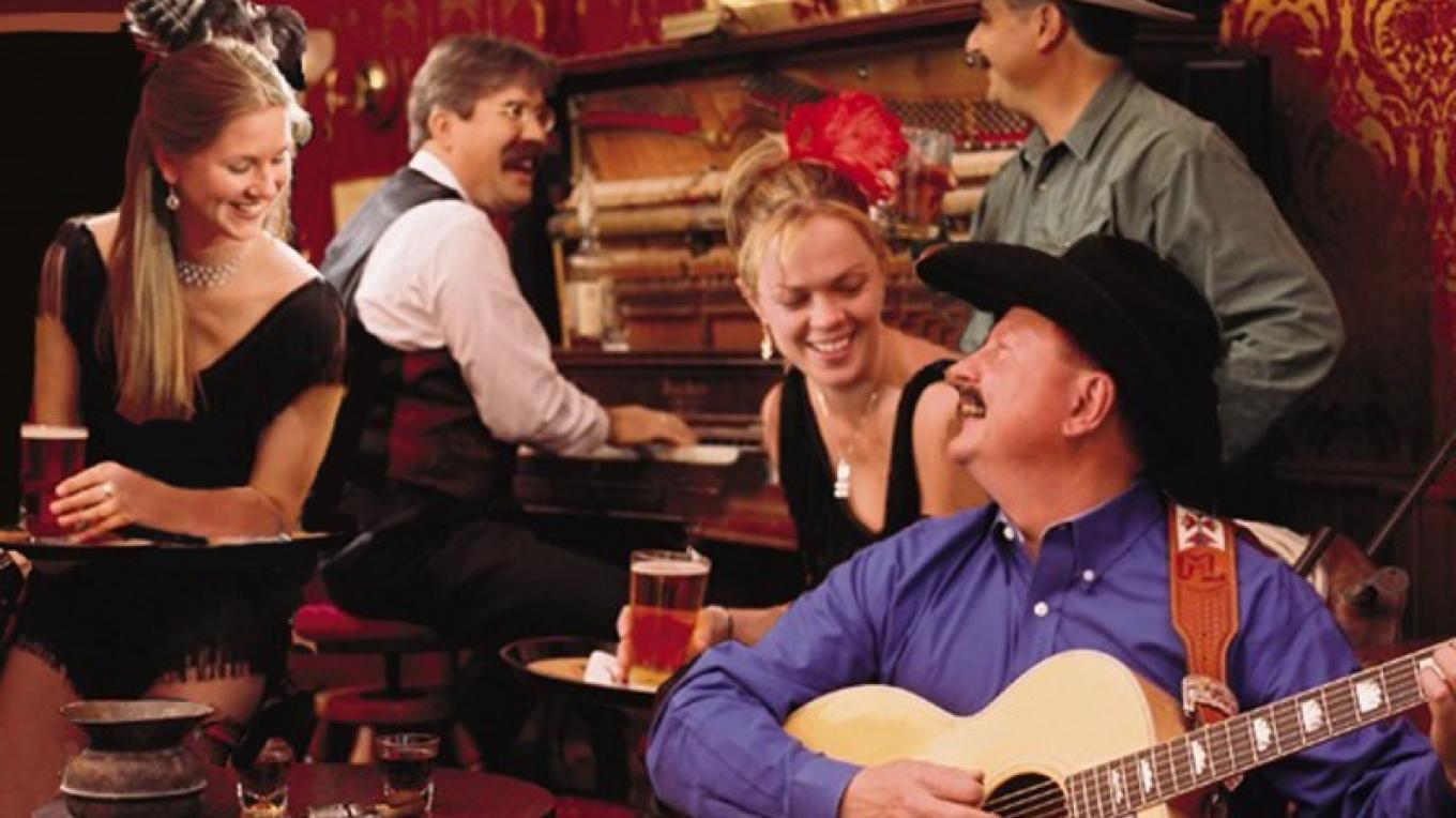 Daily live music in the Diamond Belle Saloon and The Office Spiritorium.