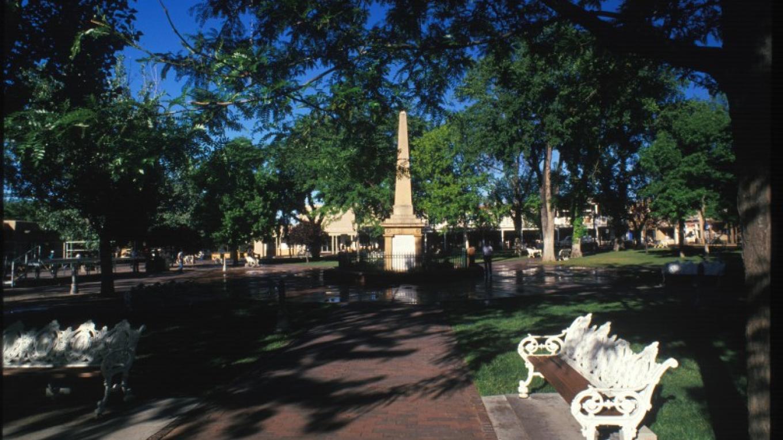 Historic Santa Fe Plaza – Chris Corrie