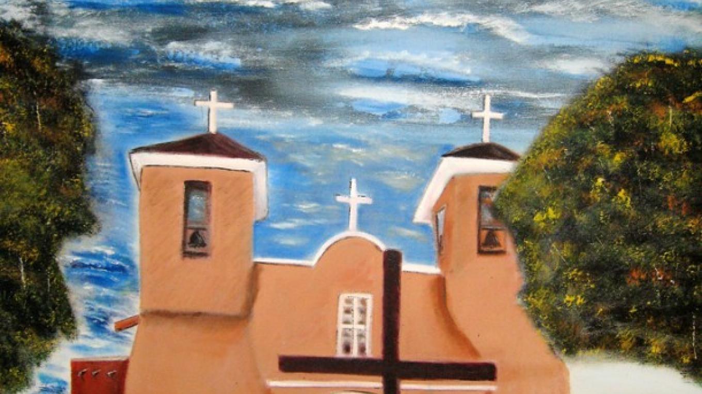 St. Francis of Assisi Church, Taos, NM – Floyd Archuleta