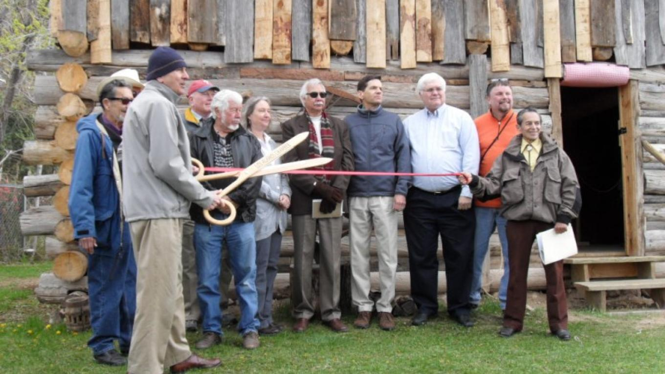 Grand opening of the Romero Cabin, May 1, 2010 – Heather McClenahan