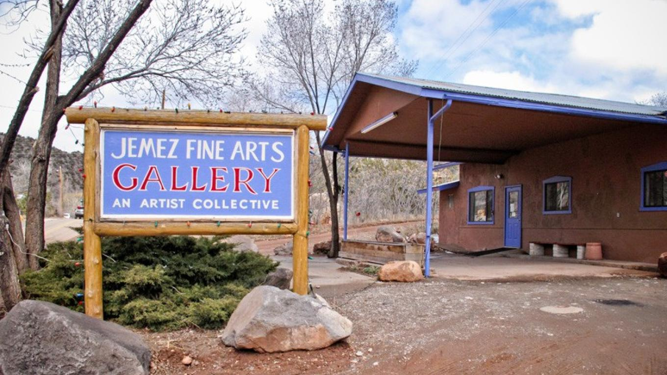 Jemez Fine Art Gallery in Jemez Springs, New Mexico. – Theodore Greer