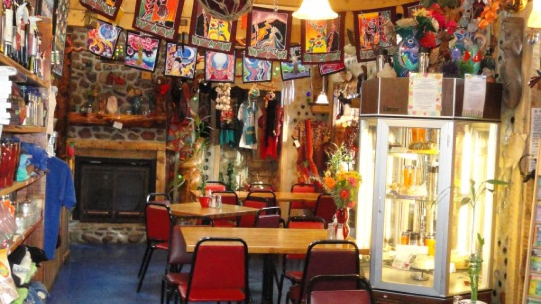 "Inside the""Peace of Art Cafe""  Del Norte,  Colorado – KimAnna, Cellura-Shields"