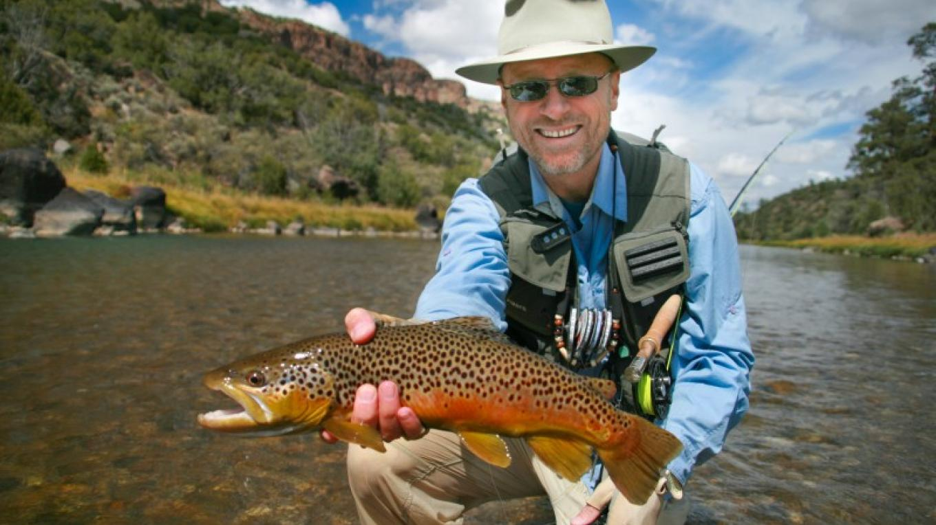 Fly fishing the Rio Grande – Nick Streit