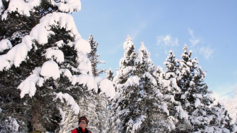 USSSA (United States Snowshoe Association) national champion Laurie Lambert – Ellen Miller-Goins