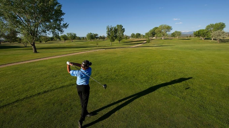 Enjoy spectacular mountain views and reasonable rates at the 160 acre, 18 hole, par 72 Conquistador Golf Course. – Bill Hatcher
