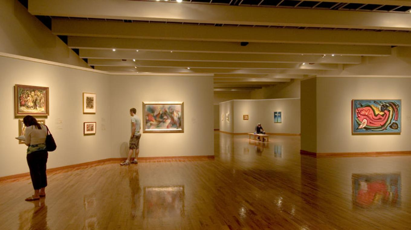 The Albuquerque Museum of Art and History:  Past Exhibition in the Norther Gallery – David Nufer