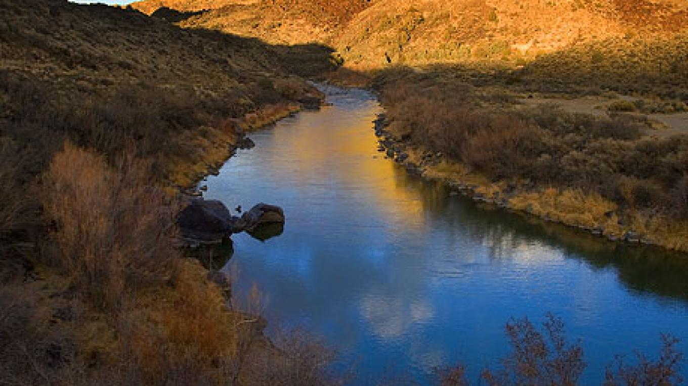 The Rio Grande – Copyright © 2008 Geraint Smith