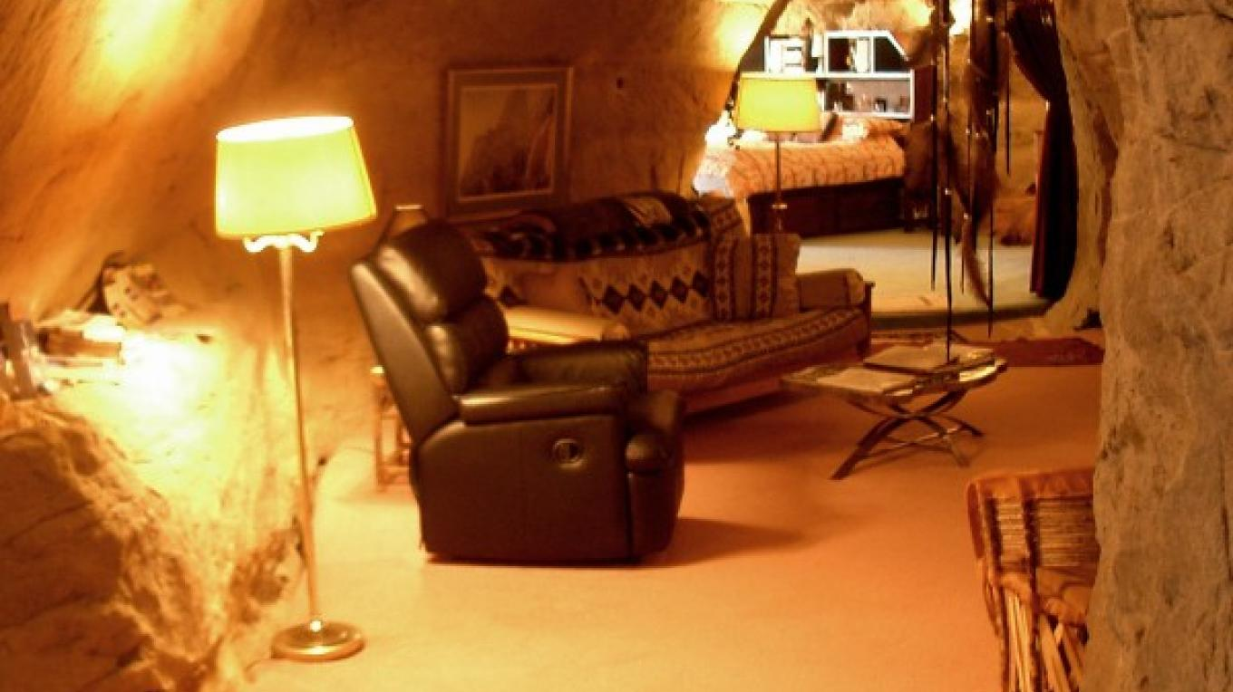 Main Room in Kokopelli's Cave – Bruce Black