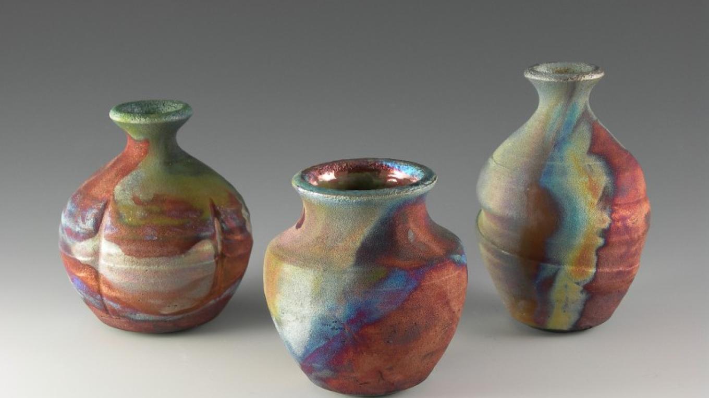 Miniature Raku Vases – Miya Endo