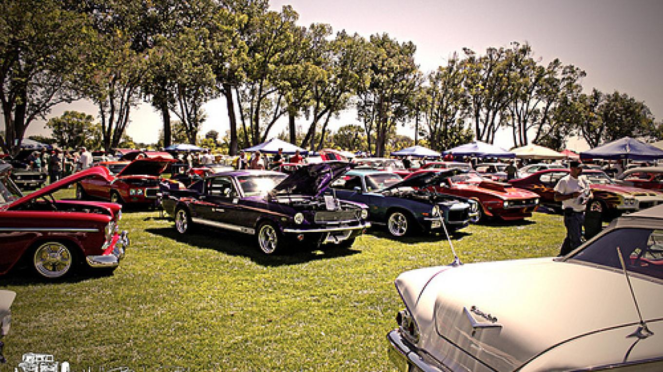 Another great year for the Early Iron Festival. A new record, 518 cars! – Matt Beckner