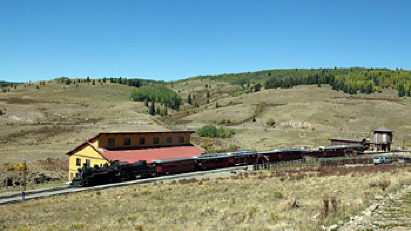 Osier, Colorado where the train stops for a mid day meal. – Roger Hogan