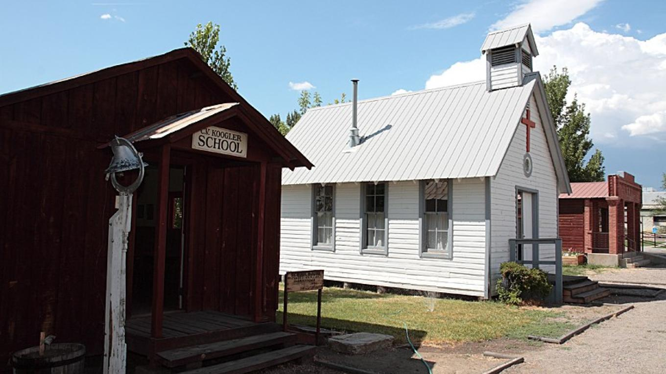 School house and Village Church – Dale W Anderson