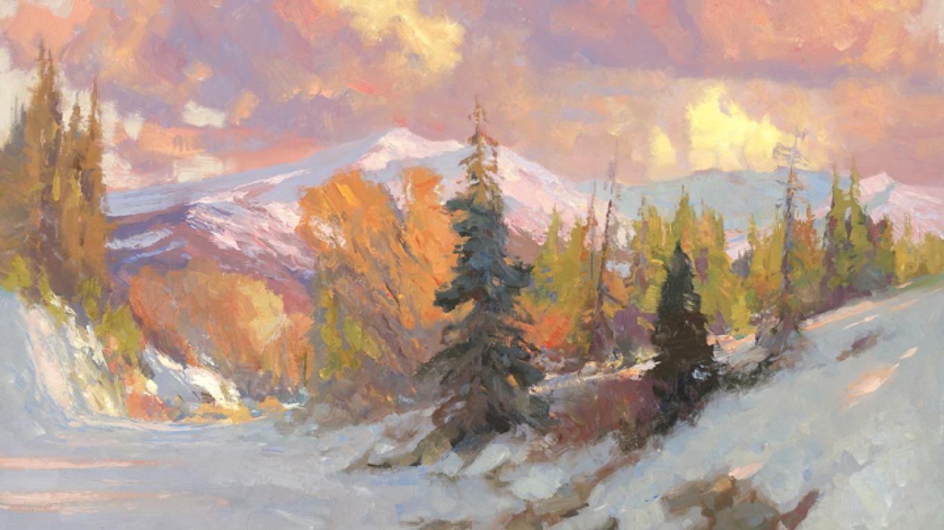 Winter Escape by Kevin Macpherson 