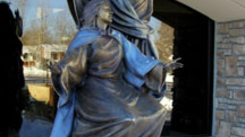 Coronation of Mary at Queen of Peace in Aurora Colorado – Huberto Maestas