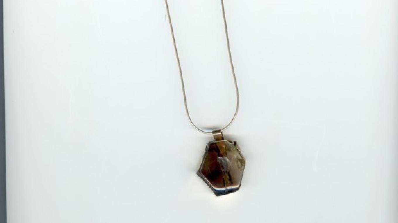 Topaz Mtn. quartz pendant – Tiki Carpenter