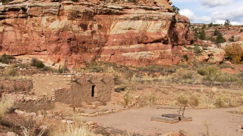 Partially restored ancient pueblo, on-site. – Marc Yaxley
