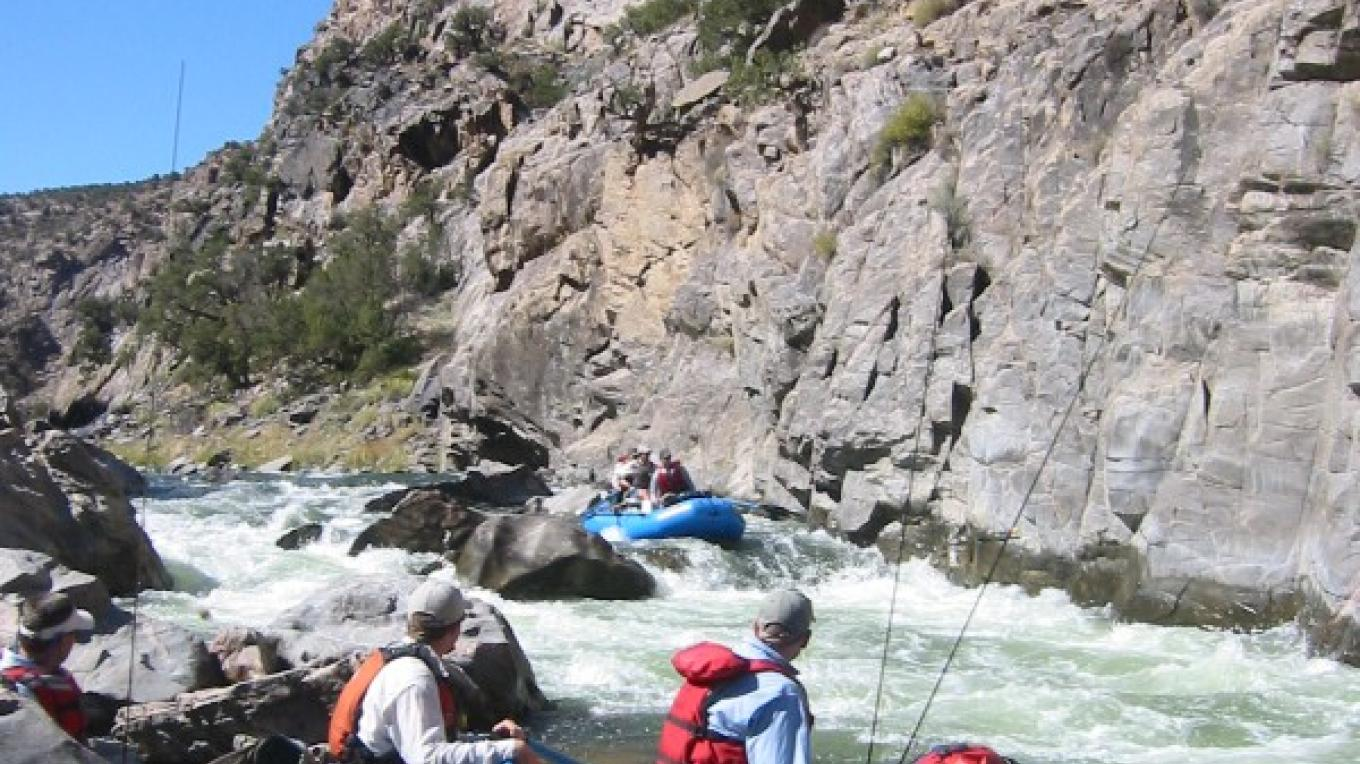 Cable Rapids - Gunnison Gorge National Conservation Area.  3-Day Wilderness Float  Fishing Trip – Tim Patterson
