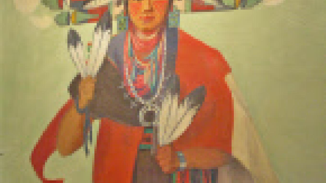 Painting of Hopi Maiden, by Kate Cory, Smoki Museum Collection. – Smoki Museum Prescott