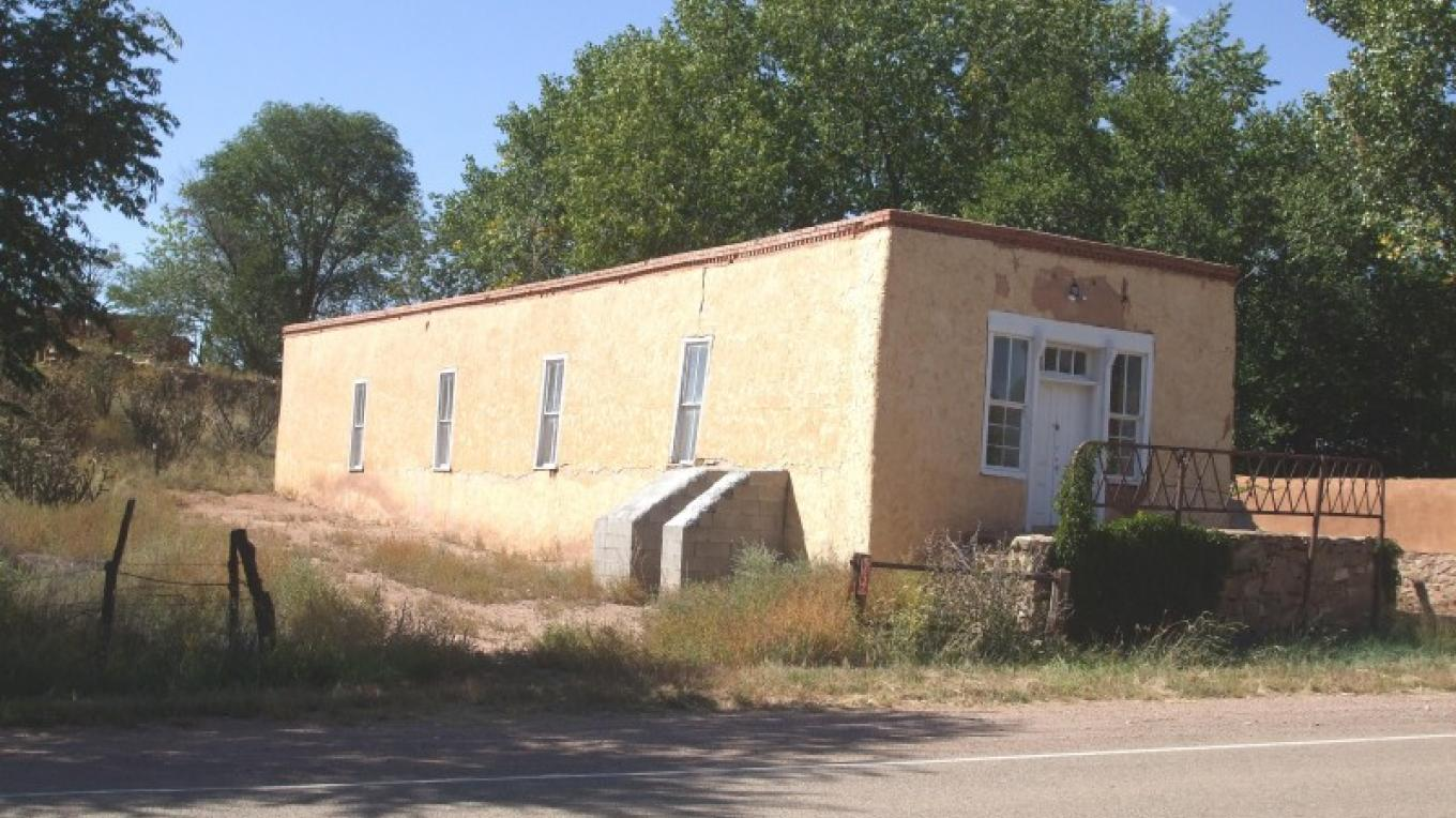 view of old dance hall to be restored – volunteer