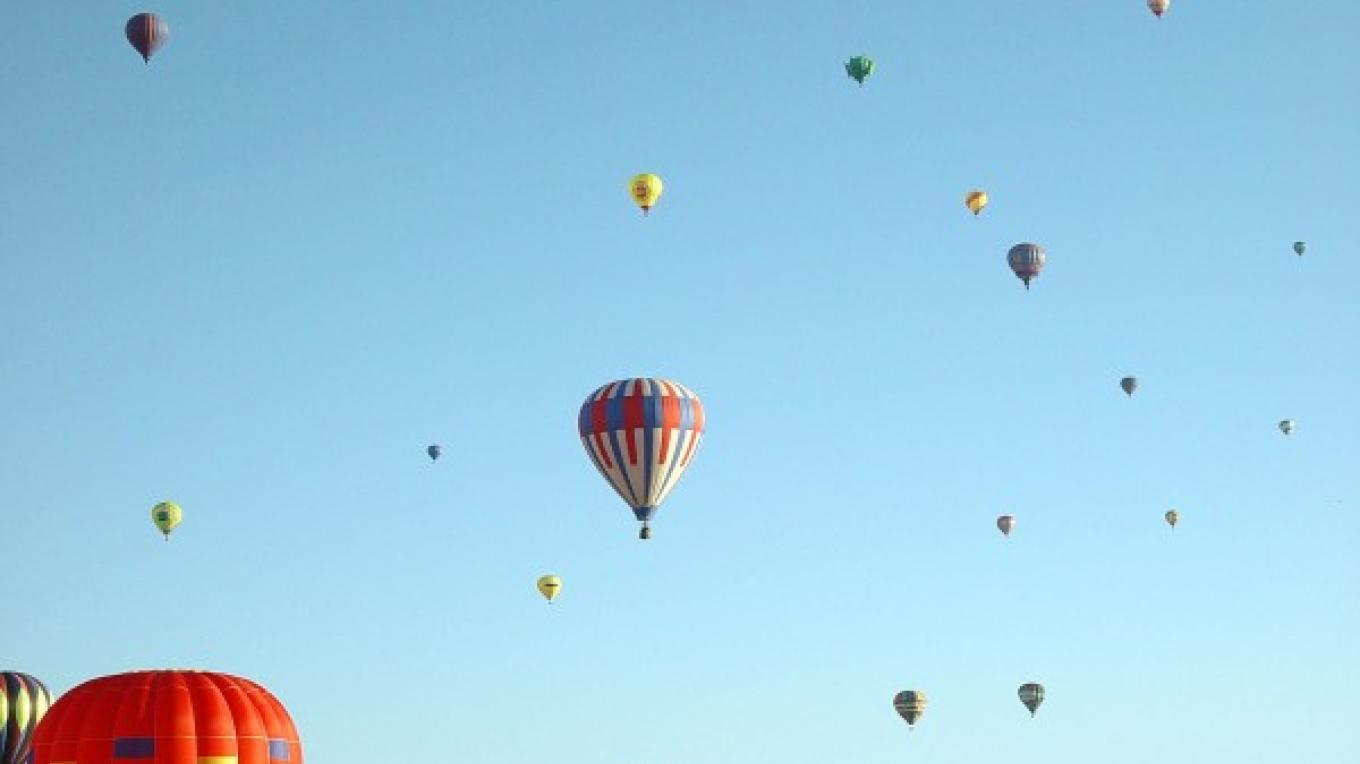 Albuquerque International Balloon Fiesta – Courtesy State of New Mexico