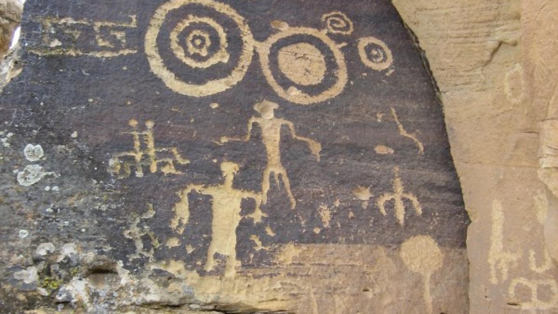 Hopi Petroglyph – Bertram Tsavadawa