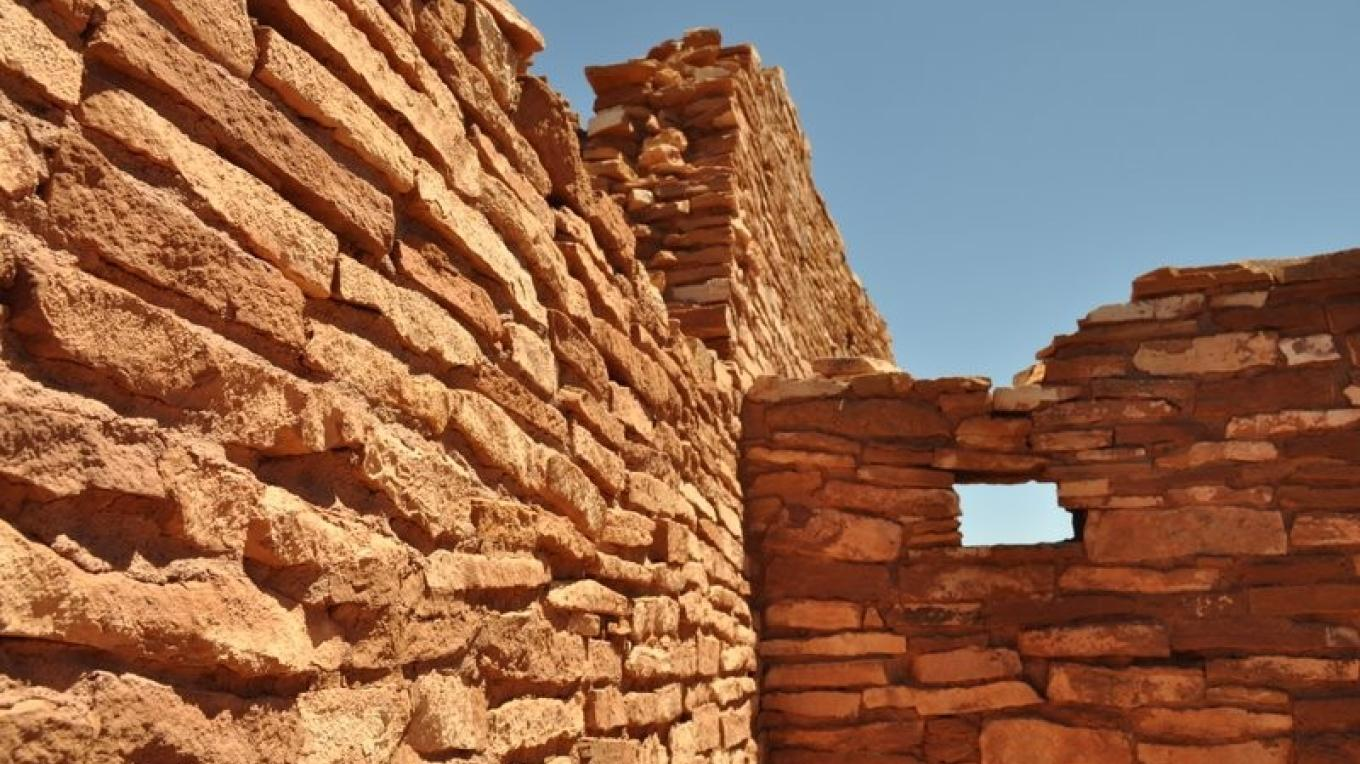 The fine masonry of early peoples provides awesome illustrations of craftsmen of the past. – Ron Robinson, Arizona Archaelogical Society