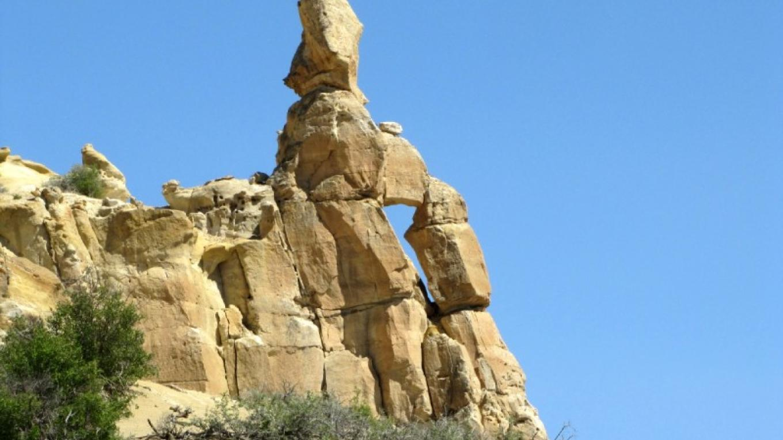 Court Jester Arch - Vaca Canyon – Edward M Kotyk