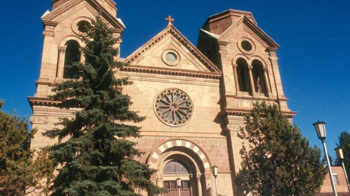 St. Francis Cathedral – New Mexico Tourism Dept. Mike Stauffer