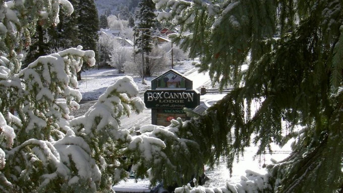 Winter is wonderful at the Box Canyon Lodge