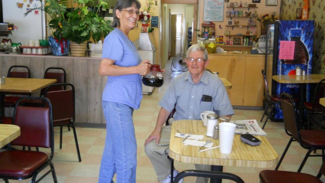 Service with a smile – Jean Peterson