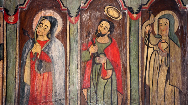 Main altar detail. – Richard L. Rieckenberg