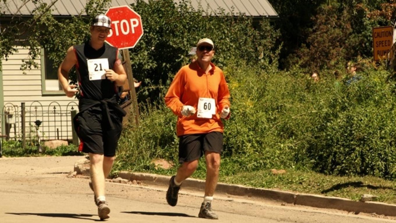 Pete and Sam Near the Finish – Samantha Lynn Samuelson