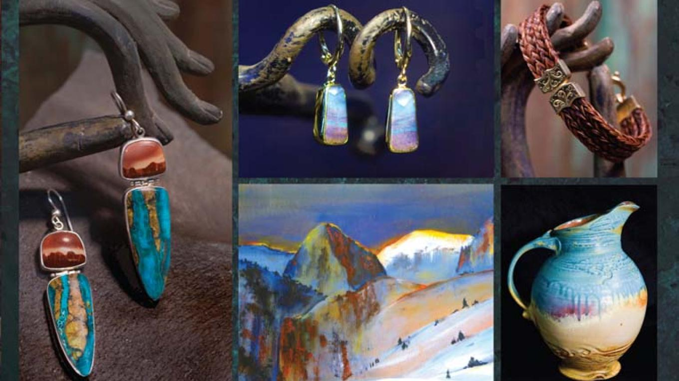 Art and jewelry, created locally, availble at Rare Things Gallery – Kara Brittain