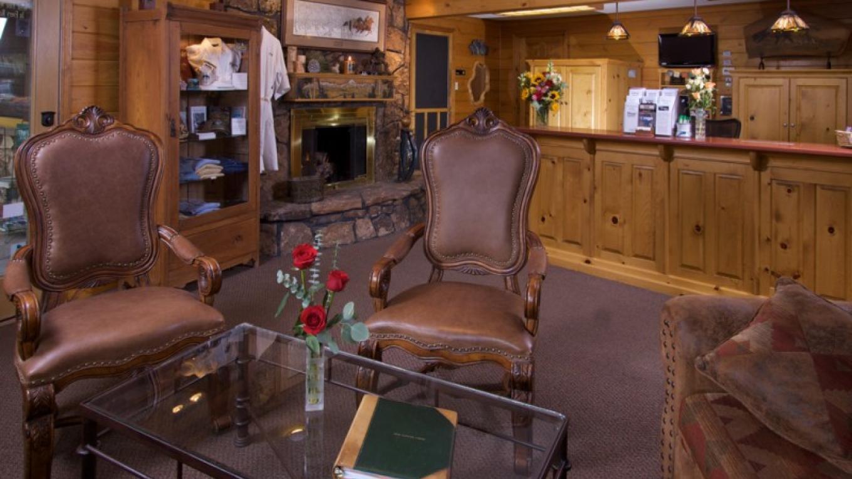 Lobby at the Box Canyon Lodge – Kane Scheidigger