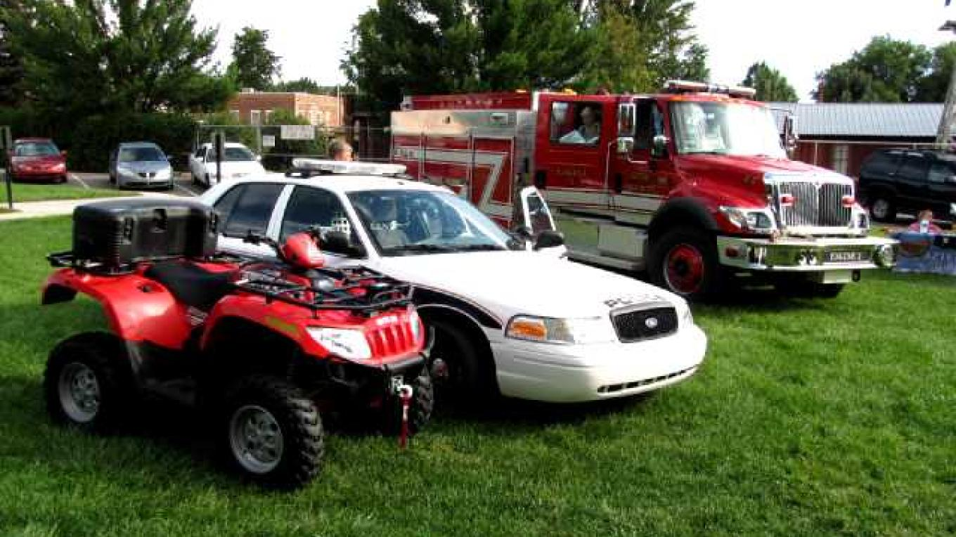 Police and Fire static display – Ed Kotyk