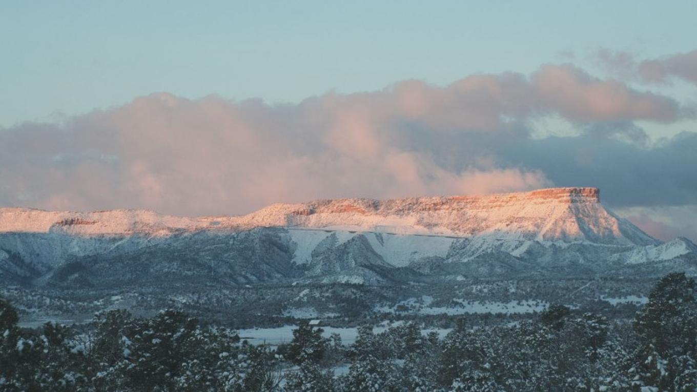 Gorgeous view of Mesa Verde