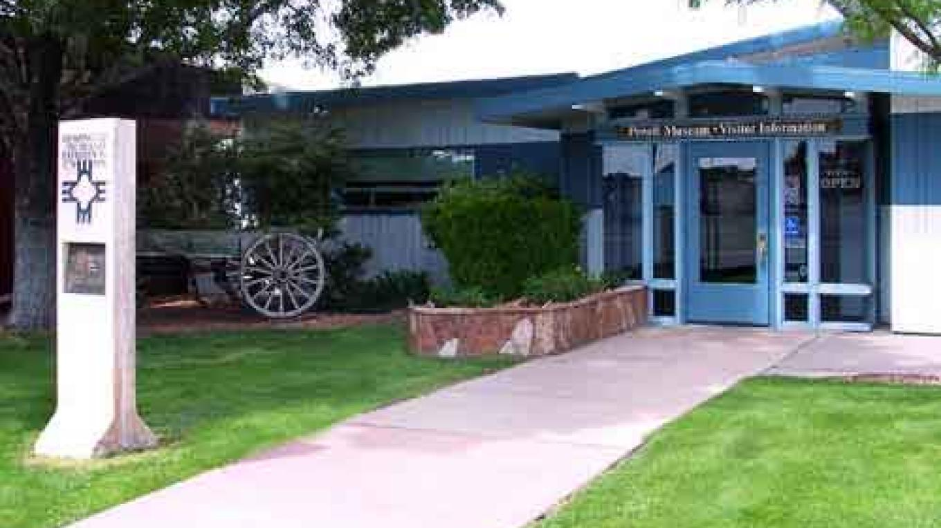 Entrance to the John Wesley Powell Memorial Museum – Museum