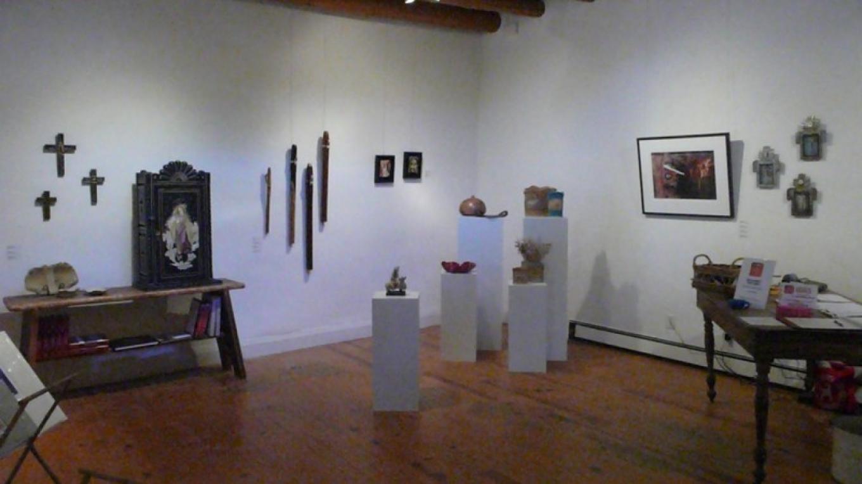 example of gallery exhibit in old adobe hacienda – Dianna Gwyn