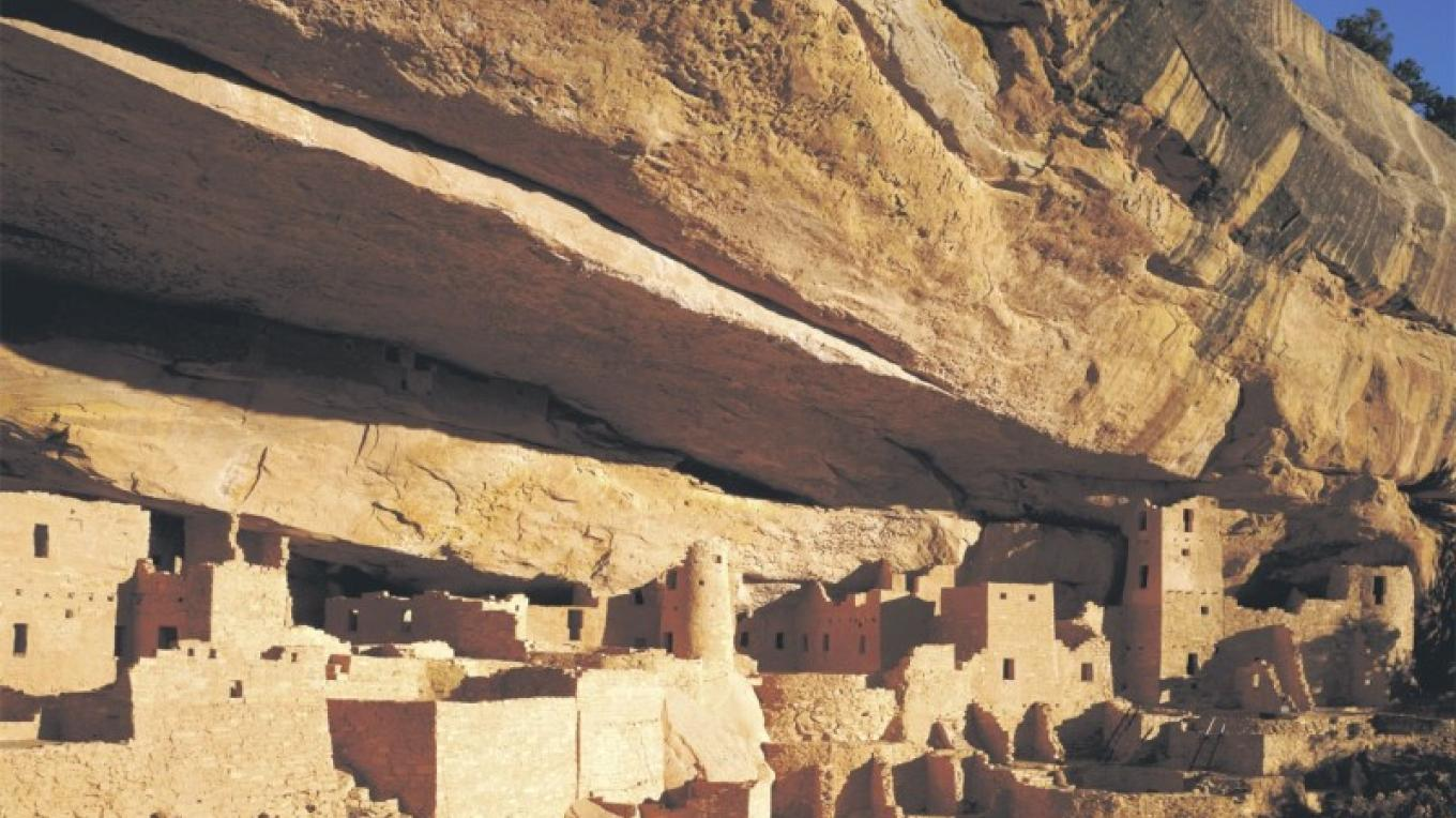 Cliff Palace at Mesa Verde National Park – Courtesy of Aramark Mesa Verde Company