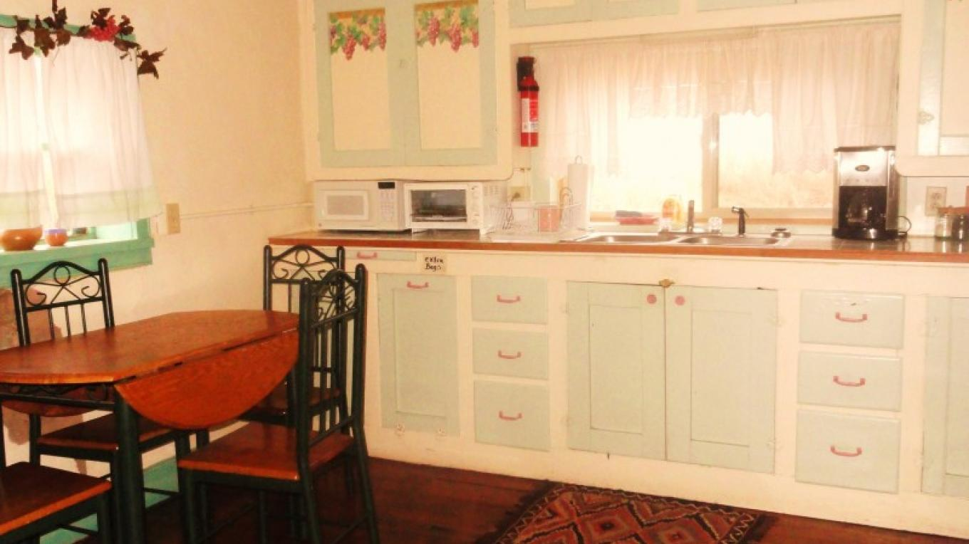 "The Kitchen in the ""La Casita Bonita Inn"" – KimAnna Celura- Shields"