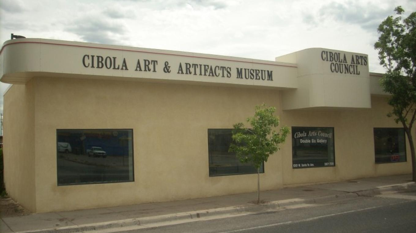 Cibola Arts and Artifacts Museum, 1001 W Santa Fe Ave., Grants, NM – Eve Johnson