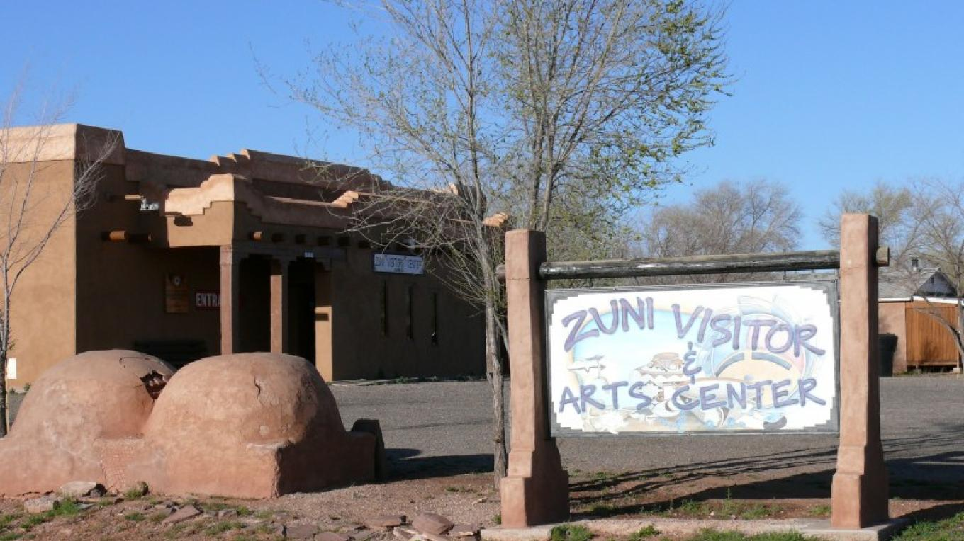 Let this be your gateway to Zuni Pueblo. – Tom R. Kennedy