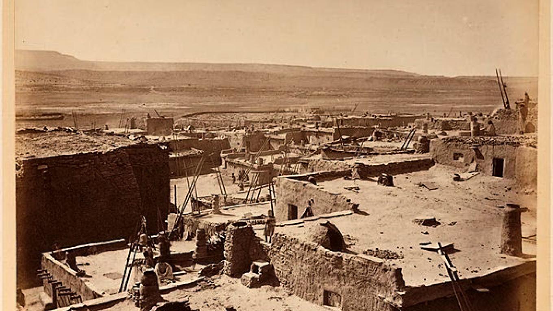 Zuni Pueblo in 1879 – Jack Hillers