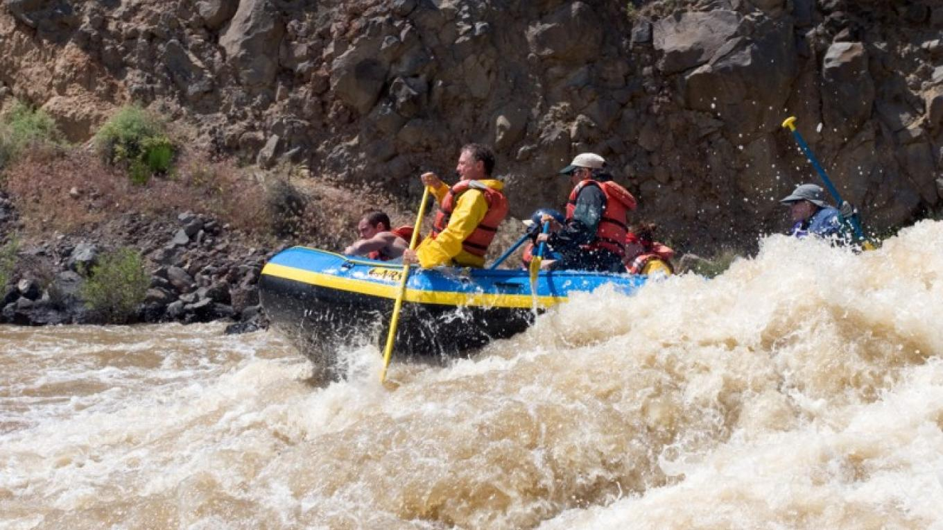 Rafting on the Rio Grande, Taos County – Terry Thompson